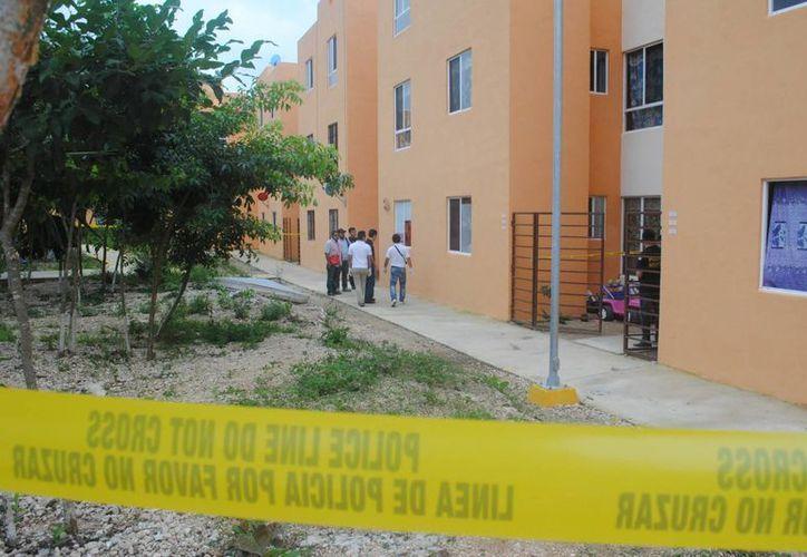 Los hechos se registraron en una vivienda del fraccionamiento Puerta del Mar. (Eric Galindo/SIPSE)