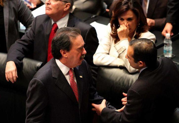 El senador Emilio Gamboa asegura que el PRI está abierto al debate. (Notimex)