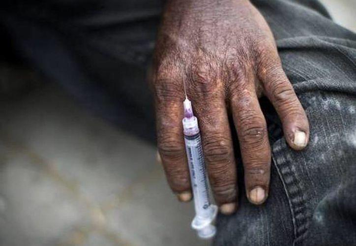 En México no existen suficientes lugares adecuados para que los adictos a la heroína reciban atención especializada. (Archivo/AP)