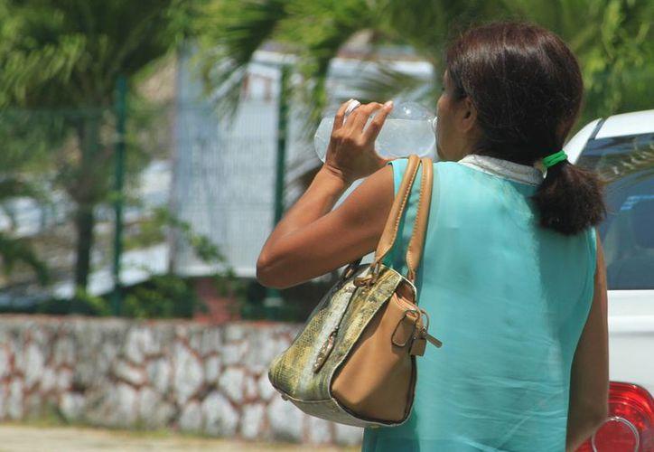 Mantenerse hidratado es una de las recomendaciones para evitar el golpe de calor. (Ángel Castilla/SIPSE)