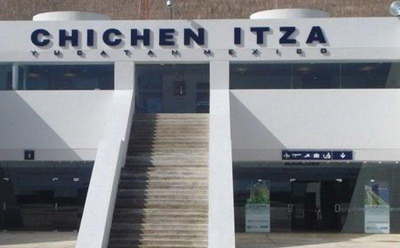 Resultado de imagen para aeropuerto de chichen itza