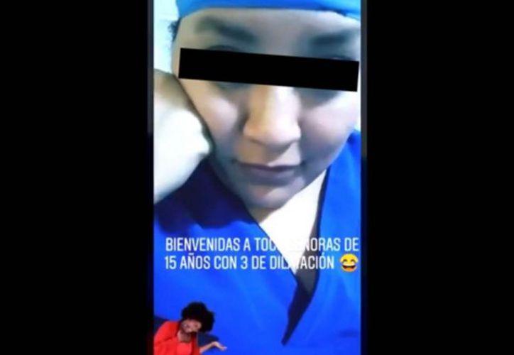 La Facultad de Medicina de la UNAM publicó un mensaje donde asegura que ya investiga este caso. (Foto: Captura de pantalla)