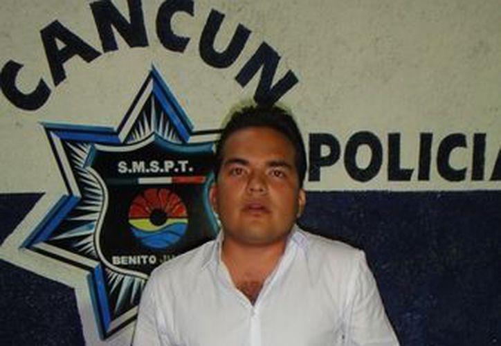 Raymundo González Velazquez, fue puesto a disposición de las autoridades del Ministerio Público. (Cortesía/SIPSE)