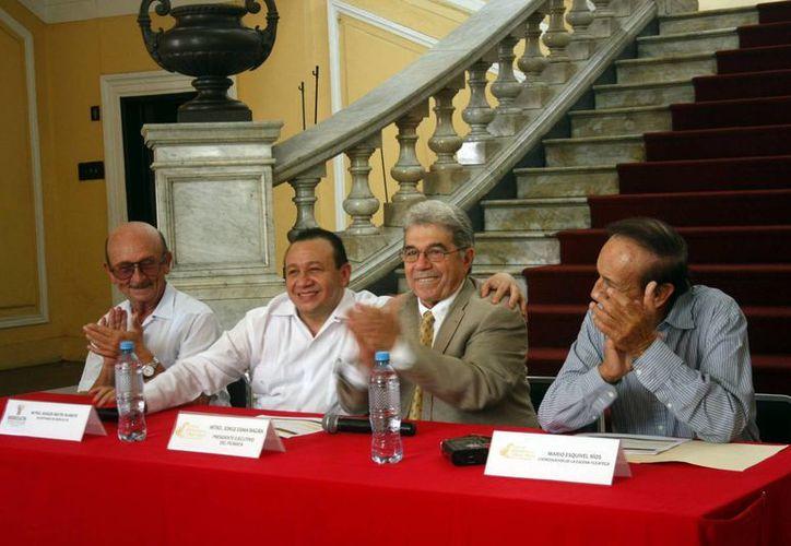 Funcionarios presentaron este miércoles Escena Yucateca. (Milenio Novedades)