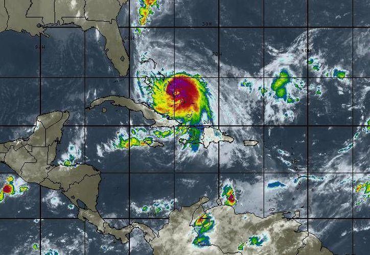 "El huracán ""Joaquín"" no representa peligro para Quintana Roo. (Intellicast)"