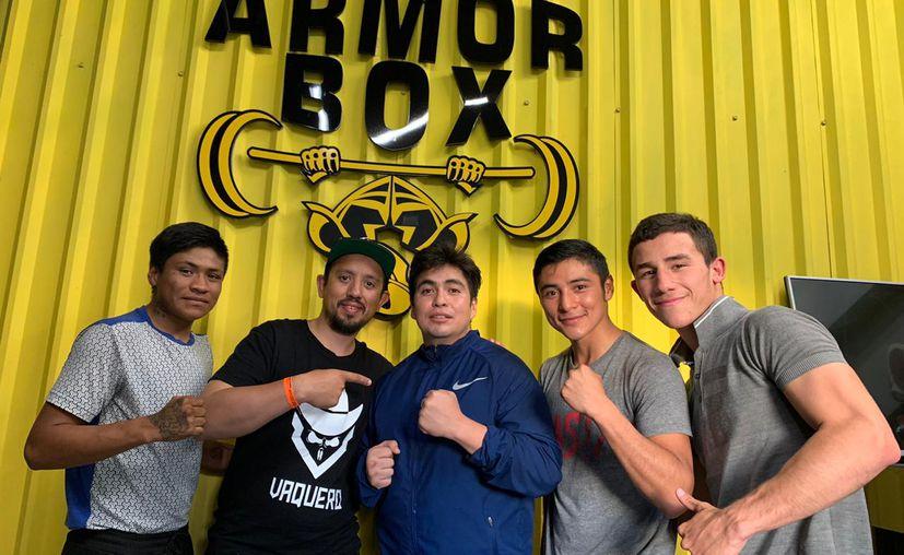 La nueva camada del boxeo yucateco se mantiene firme continuando con sus entrenamientos. (Novedades Yucatán)