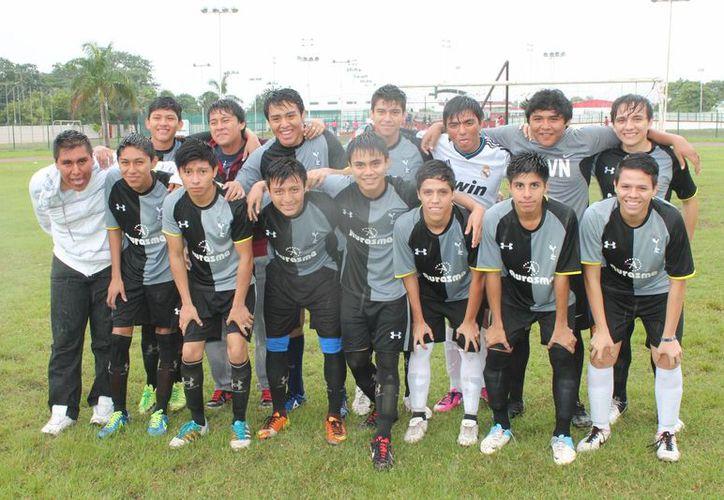 Descontaron a los Topos con dos goles de Bryan Te, uno de Hugo Pérez y otro de Moisés Bastarrachea. (Miguel Maldonado/SIPSE)