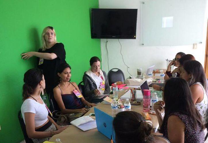 Se desarrollaron diferentes talleres durante las actividades. (Alejandra Flores/SIPSE)