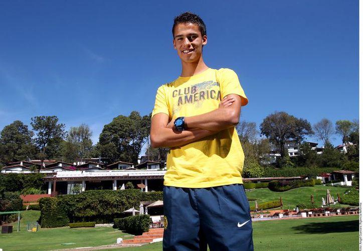 Reyes desea seguir los pasos del colombiano Radamel Falcao. (Foto: Agencia Reforma)