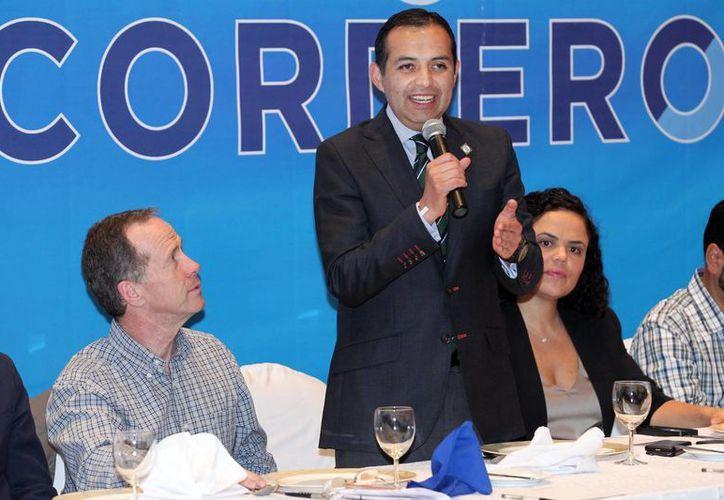 Ernesto Cordero, candidato a la presidencia nacional del PAN, votará en la caseta ubicada en la explanada de la delegación  Cuajimalpa. (Notimex/Foto de archivo)