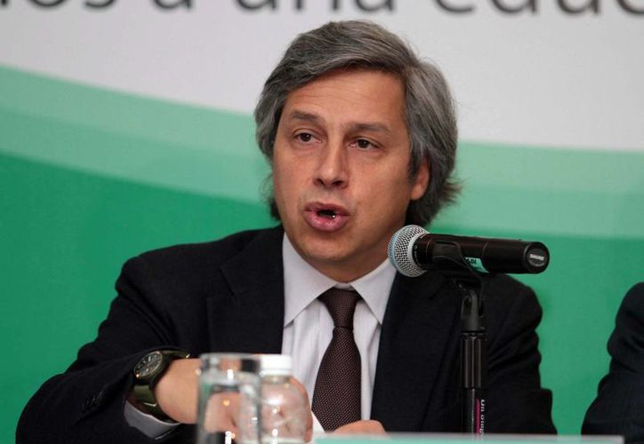 Mexicanos Primero busca la transformación del sistema educativo nacional, señala Claudio X. González. (Archivo/Notimex)