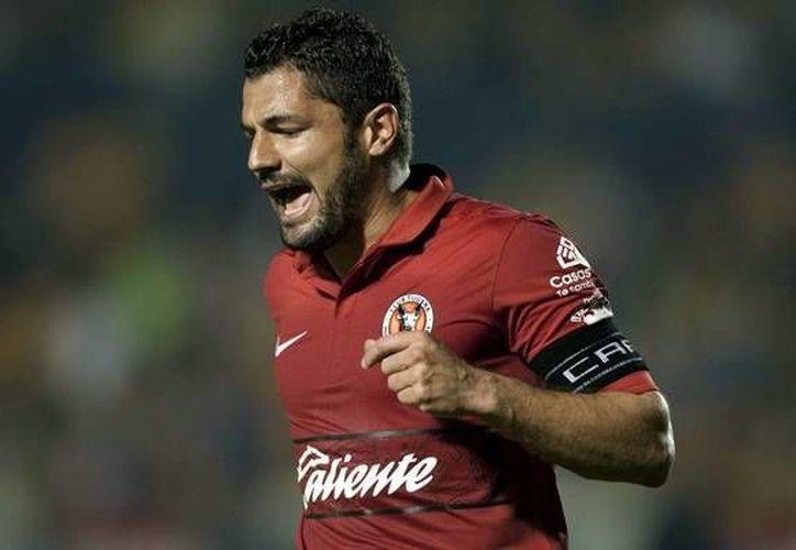 Javier Gandolfi anotó el solitario gol que estropeó la corona del Corinthians. (www.mediotiempo.com)