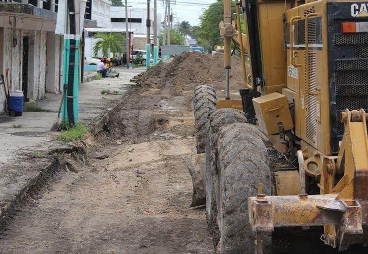 Se trabajará en la calle 22 de Enero desde la Independencia hasta José María Morelos. Para rehabilitar otras arterias pedirán recursos a la Sefiplan. (Joel Zamora/SIPSE)