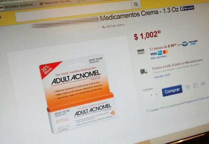 La publicidad engañosa en la venta de medicamentos por internet será uno de los puntos a combatir en el acuerdo signado por América Latina y España. (SIPSE)