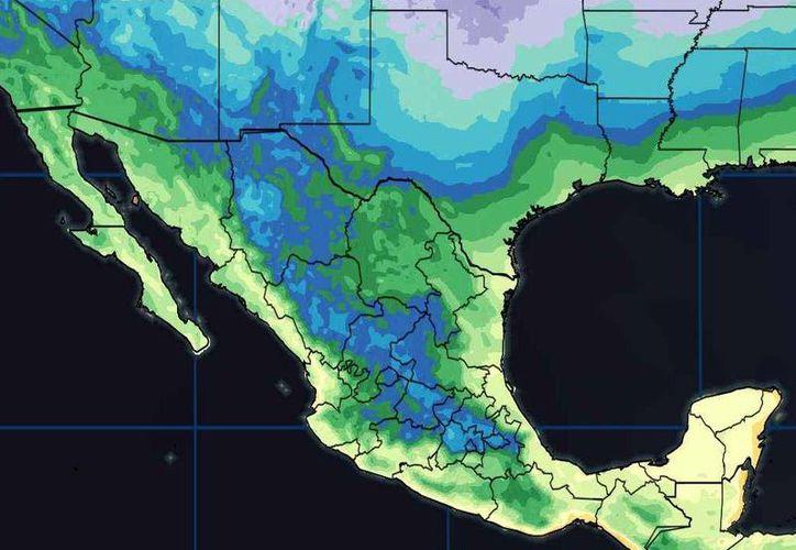 Los vientos serán de 12 kilómetros por hora en Chetumal. (Conagua)