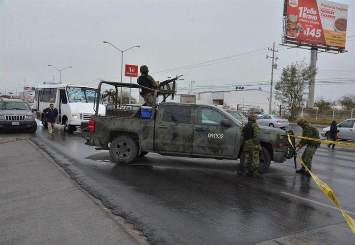 El gobierno de Tamaulipas dio a conocer que las fuerzas federales mantiene operativos en la entidad. (Twitter/ElInformanteMX)