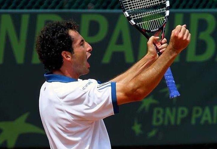 Alejandro Hernández, máximo ganador en Copa Davis por México estará en el Club Campestre de Mérida. (Milenio Novedades)