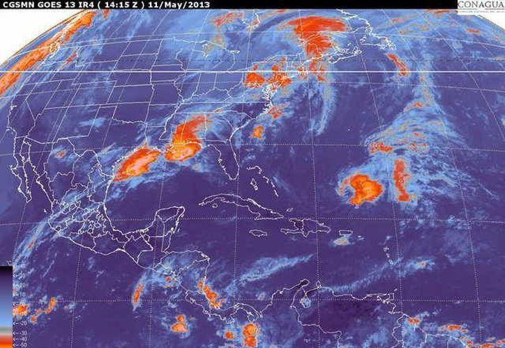 Soplarán vientos variables de 20 a 40 km/h. (smn.cna.gob.mx)