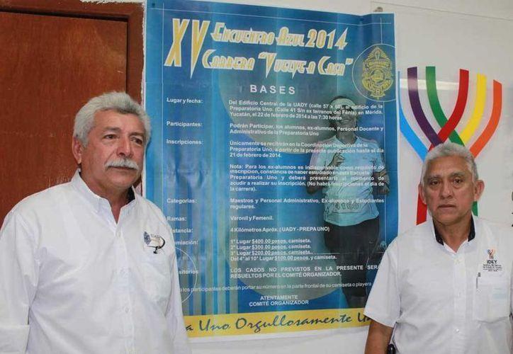 Presentación de la carrera Vuelve a casa en el marco del 92 aniversario de la UADY. (Milenio Novedades)