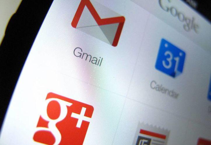 Google no reveló la causa del desplome de los servicios de Gmail. (Archivo/Agencias)
