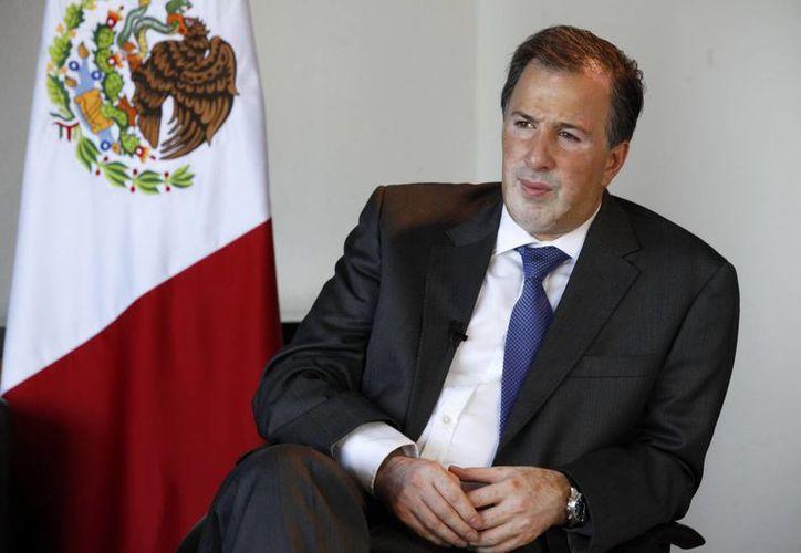 El secretario de Relaciones Exteriores, José Antonio Meade. (Notimex)