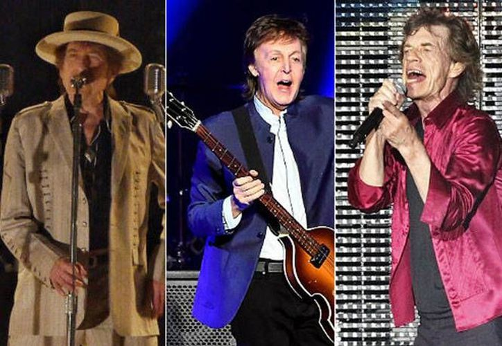 Un megaconcierto con artistas de la talla de Bob Dylan, Paul McCartney y The Rolling Stones estaría cocinándose. (Imagen tomada de Excelsior)