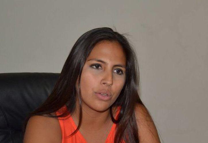 Alaine López Briceño, titular de la Sejuve, afirmó que espera la participación de 600 personas a los cursos. (Milenio Novedades)