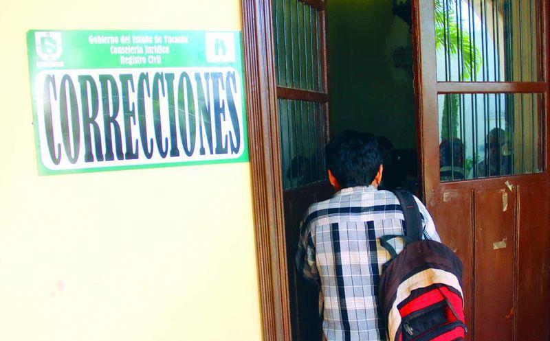 Registro Civil de Yucatán realiza 70 rectificaciones por día en ...