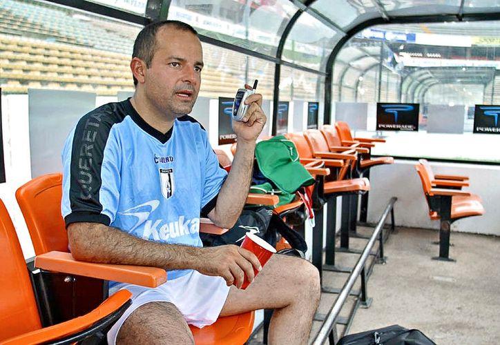 Jorge Vázquez Mellado aparentó ser el dueño del equipo Gallos Blancos de Querétaro. (Foto: Agencia Reforma)