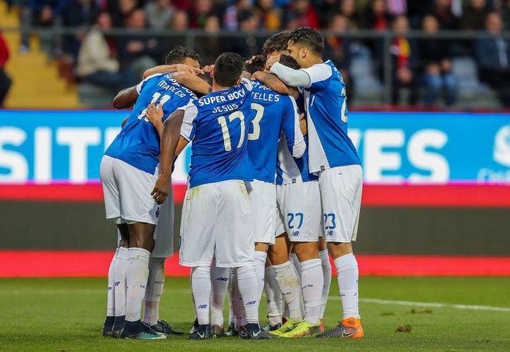 Fue un duelo de poca exigencia para el cuadro que dirige Sérgio Conceiçao. (Twitter/Porto)