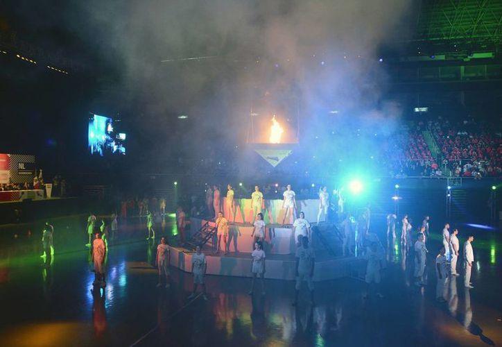 Yucatán está presente desde hoy en los Juegos Olímpicos Nacionales en Nuevo León, que fueron inaugurados. (Notimex)