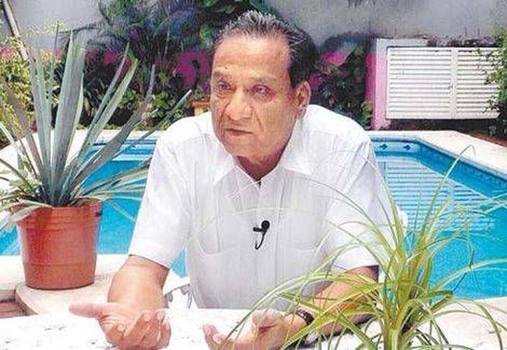 Luis Raúl Mazón llegó a Iguala a mediados de los noventa, y a la política, 'por casualidad'. (Sael Bravo/Milenio)