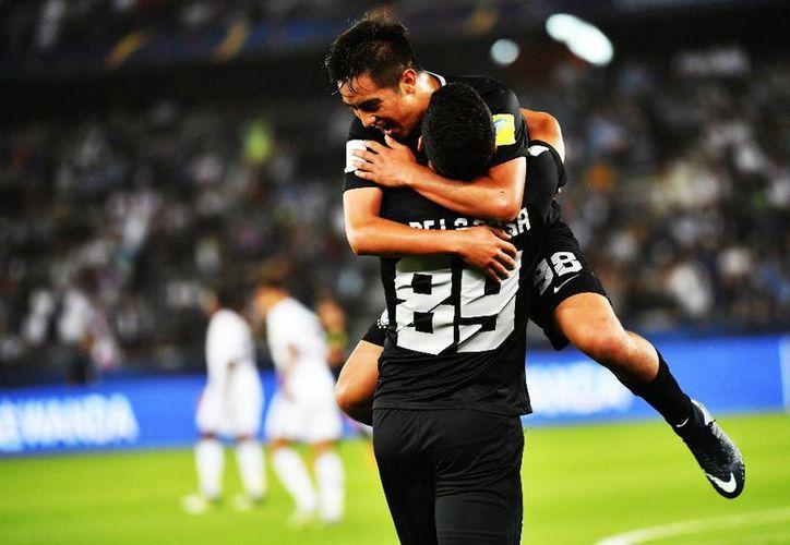 El marcador se abrió gracias a un gol del uruguayo Jonathan Urretaviscaya.  (Foto: Contexto/Internet)