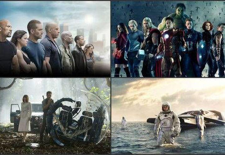Entre los títulos más <i>pirateados</i> en 2015 se encuentran <i>Los Vengadores, Furiosos 7 y Mundo jurásico</i> (Milenio Digital)