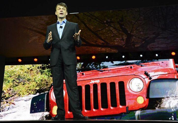 El presidente y consejero delegado de Jeep, Mike Manley, quien al frente de la marca ha logrado elevar las ventas. (EFE/Archivo)