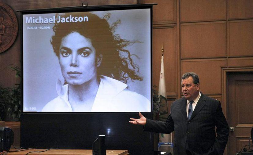 """Videos del """"Rey del pop"""" se han mostrado con frecuencia a lo largo del juicio de 21 semanas, para recordarlo por sus triunfos musicales. (Agencias)"""