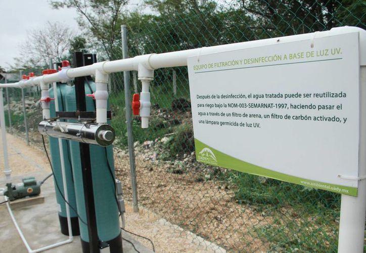 La Uady instaló tres plantas de tratamiento de aguas en los campus de Sociales, Ciencias Exactas y el de Biológicas. (SIPSE)