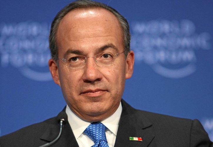 El ex presidente Felipe Calderón confía en que el PAN recupere la confianza de los ciudadanos. (Archivo/SIPSE)