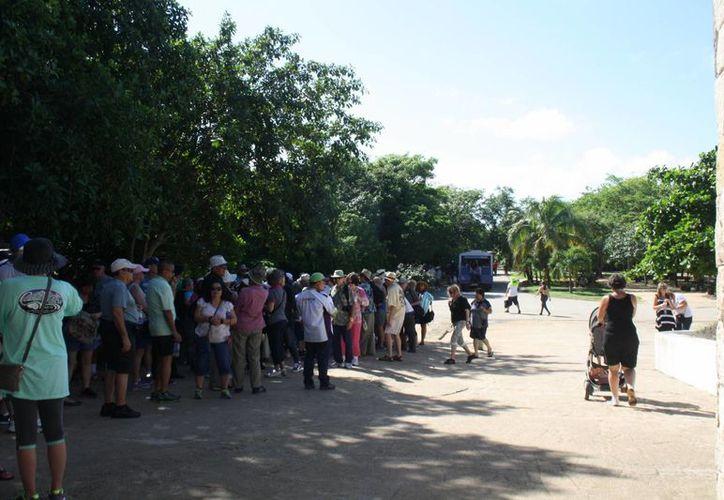 El INAH ha puesto a prueba dos horarios adicionales para ingresar a las zonas arqueológicas de Tulum y Cobá. (Sara Cauich/SIPSE9