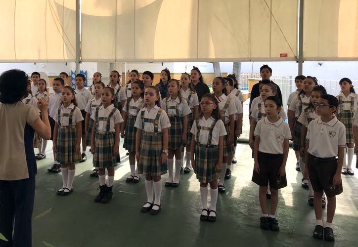 Los alumnos se prepararon para el concurso durante más de cinco meses. (Milenio Novedades)