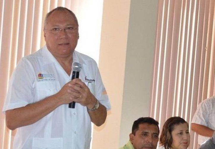 El titular de la SESA, Rafael Alpuche Delgado. (Redacción/SIPSE)