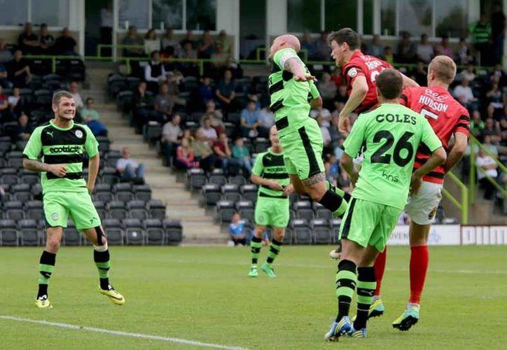 El Forest Green Rovers es el primer club vegano del mundo y se localiza en Inglaterra. (dailypost.co.uk)
