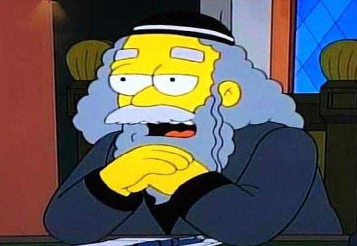 Rabbi Krustofski, el padre de Krusty el payaso, volverá a la serie en una parodia de la película 'Frozen' de Disney. (Archivo/ Excelsior)