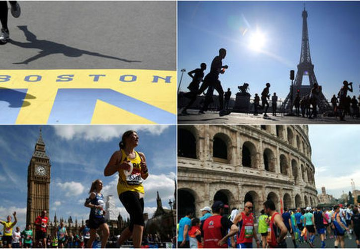 Abril reunirá a cuatro grandes competencias, empezando por el Maratón de Roma. (Milenio).