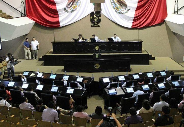 El Congreso de Yucatán celebró este jueves una sesión de trámite. (SIPSE)