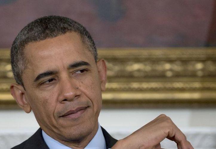 """Obama consideró que la medida será otro paso """"hacia la realización de los ideales fundacionales"""" del país. (Agencias)"""