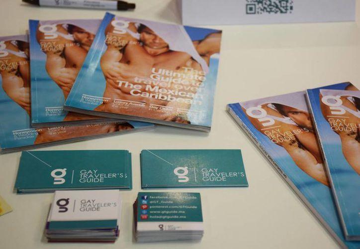 Cerca de tres mil ejemplares de la gay traveler's guide serán distribuidos en Berlín. (Israel Leal/SIPSE)