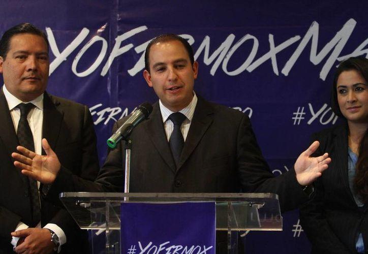El coordinador de los Centros de Estudios de la Cámara de Diputados, Marko Cortés Mendoza, aseguró que el PAN debe preocuparse por ganar las elecciones.  (Archivo/Notimex)