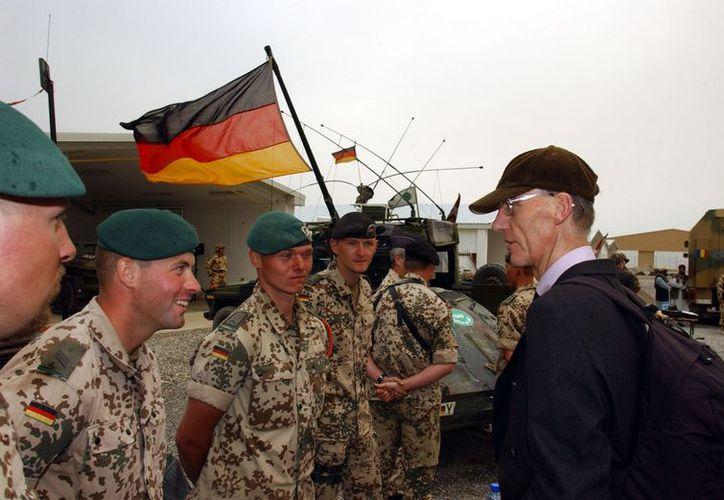 Anteriormente, Alemania había retirado un centenar de elementos de Afganistán. (Archivo/Agencias)