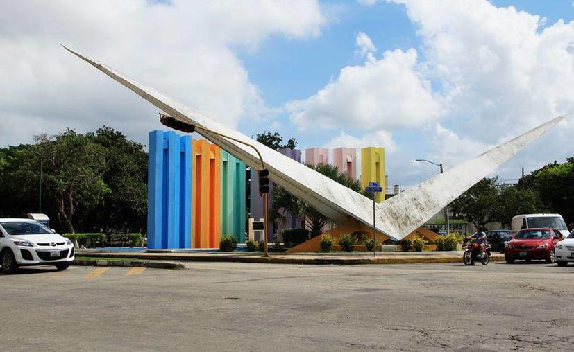 """Este espacio fue bautizado como """"Parque de la Amistad"""", en honor a la hermandad entre las ciudades de Mérida y Glendora, Estados Unidos. (Milenio Novedades)"""